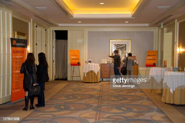 Atmosphere at the AppNexus Summit SF at the Four Seasons Hotel on April 14 2011 in San Francisco California