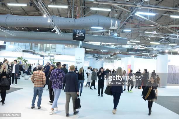 Atmosphere at The Armory Show 2020 Preview Day on March 4, 2020 at Pier 90 in New York City.
