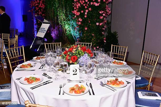 Atmosphere at the Awards Dinner at the Hamptons International Film Festival 2016 at Topping Rose on October 9 2016 in Bridgehampton New York