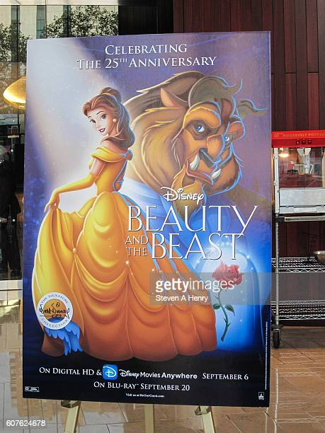 Atmosphere at the 'Beauty The Beast' 25th Anniversary Screening at Alice Tully Hall Lincoln Center on September 18 2016 in New York City
