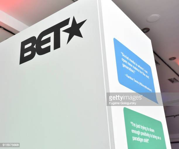 Atmosphere at the BET NETWORKS Hosting of the Opening Night Reception For 'THE MUSEUM OF MEME' In Celebration Of 'THE BET SOCIAL AWARDS' at The...
