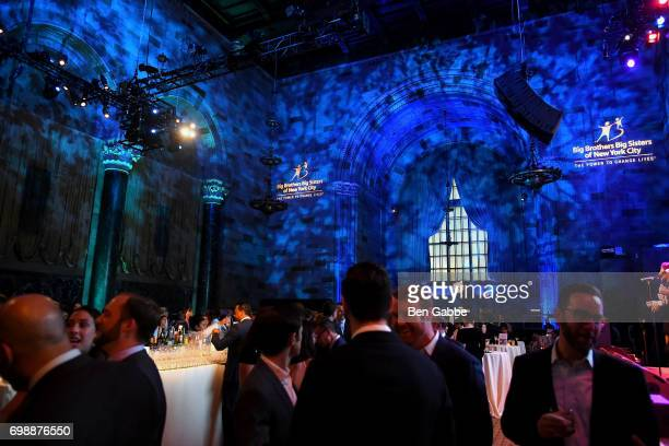 Atmosphere at the Big Brothers Big Sisters of NYC annual Casino Jazz Night at Cipriani 42nd Street on June 20 2017 in New York City