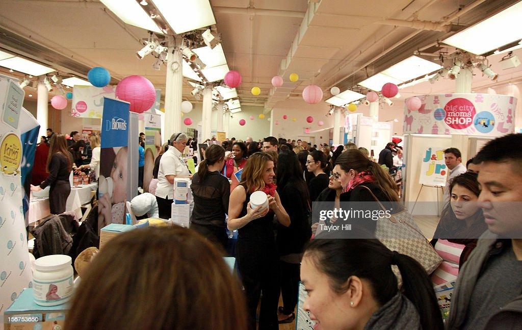 Atmosphere At The Big City Moms 14th Biggest Baby Shower At The  Metropolitan Pavilion On November