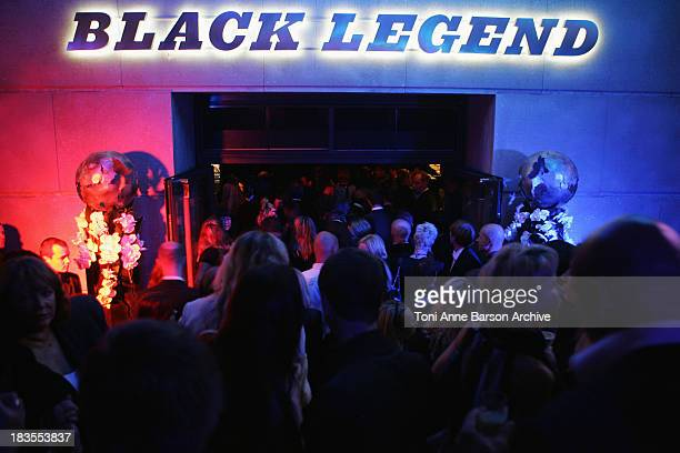Atmosphere at the Black Legend opening party on October 29 2009 in MonteCarlo Monaco