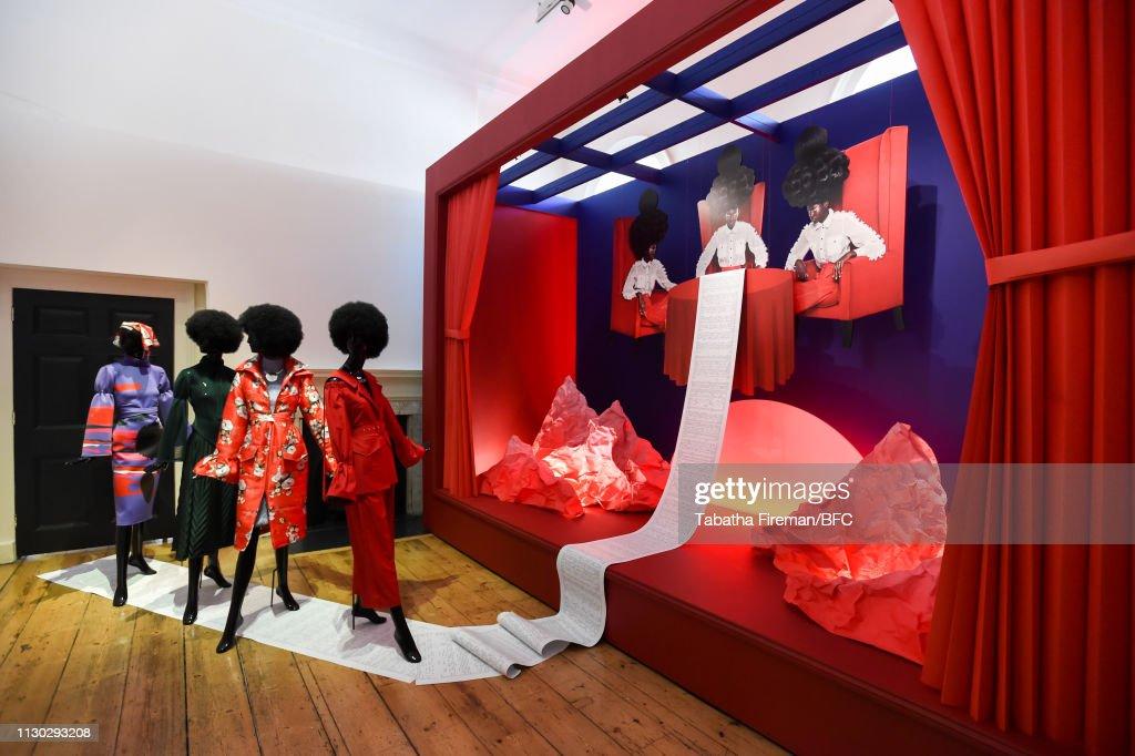 "GBR: ""Brave New Worlds"" International Fashion Showcase 2019 Award Ceremony - LFW February 2019"