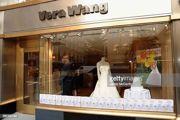 """Atmosphere at the celebration hosted by Vera Wang Bridal House & Martha Stewart Weddings for the release of Jodi Della Femina's book """"By Invitation..."""