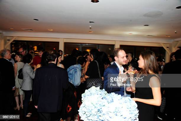 Atmosphere at The Cinema Society With Synchrony And Avion Host The After Party For Marvel Studios' AntMan And The Wasp at The Water Club Restaurant...