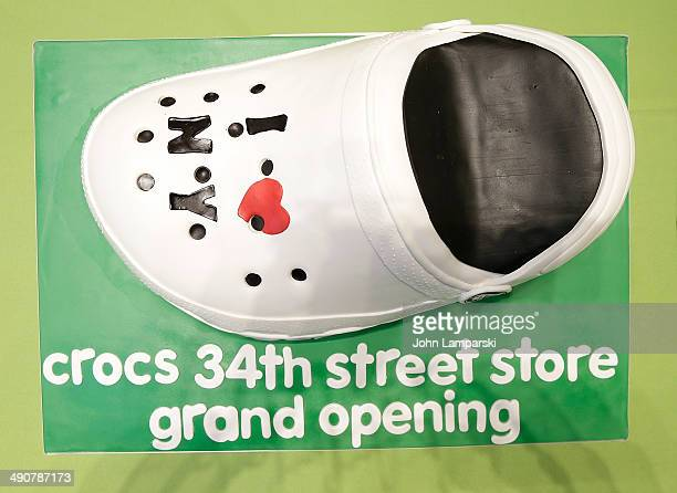 41cec17d8 Atmosphere at the Crocs grand opening at Crocs 34th Street Store on May 15  2014 in