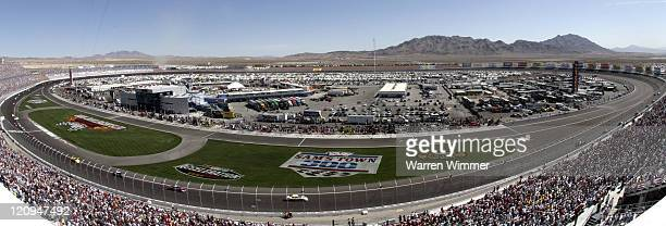 Atmosphere at the Crown Jewel of race tracks the Las Vegas Motor Speedway Las Vegas Nevada USA on March 10 2007 Jeff Burton won the race one the last...