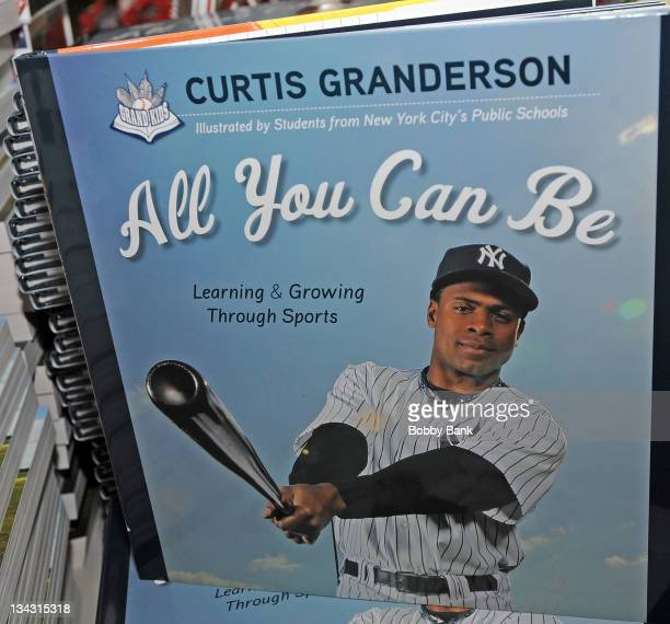 """Atmosphere at the Curtis Granderson promotion for his book """"All You Can Be"""" at Bookends Bookstore on November 30, 2011 in Ridgewood, New Jersey."""