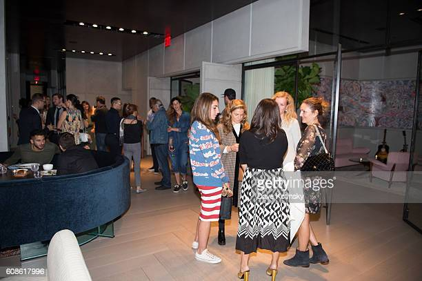 Atmosphere at the Daniel Arsham Colorblind Artist In Full Color at Spring Place on September 19 2016 in New York City