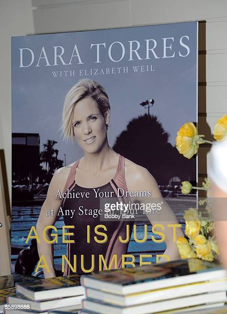 """Atmosphere at the Dara Torres book promotion """"Age is Just a Number"""" at Bookends Bookstore on April 8, 2009 in Ridgewood, New Jersey."""