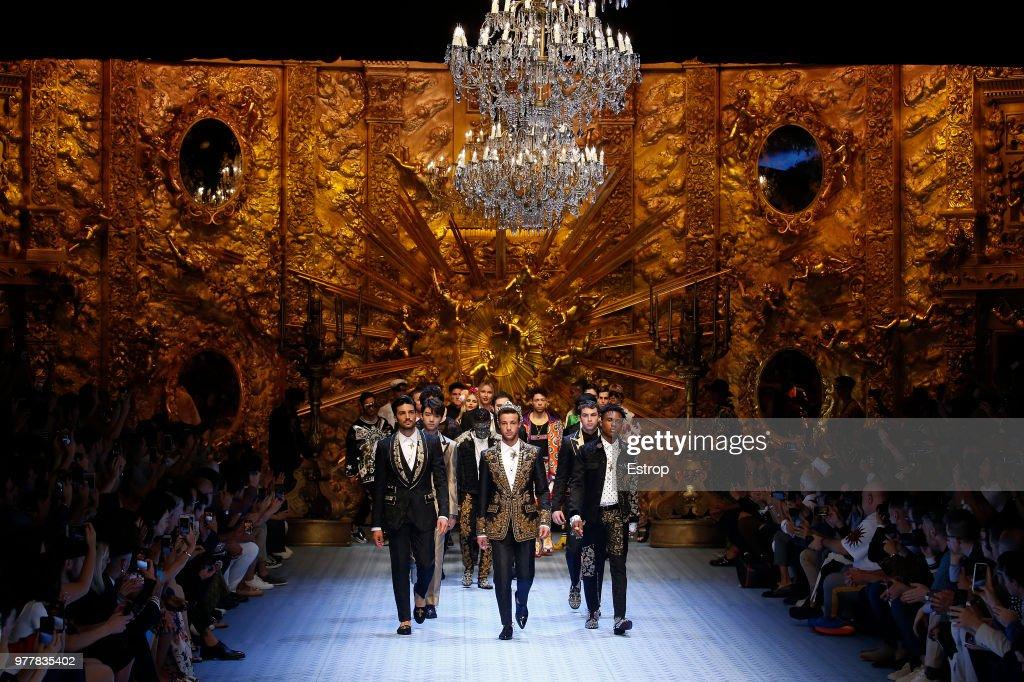 Dolce & Gabbana - Details - Milan Men's Fashion Week Spring/Summer 2019 : ニュース写真