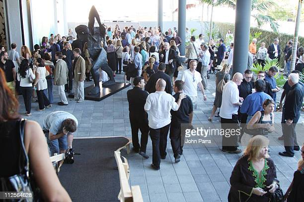 Atmosphere at the Domino Magazine and Jennifer Rubell Celebrate Art Basel Miami Week on December 6 2007 in Miami Florida