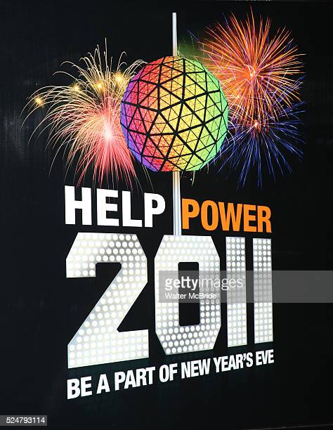 Atmosphere at the Duracell Smart Powers Lab to generate power that will light the 2011 Numerals on New Years Eve in New York City.