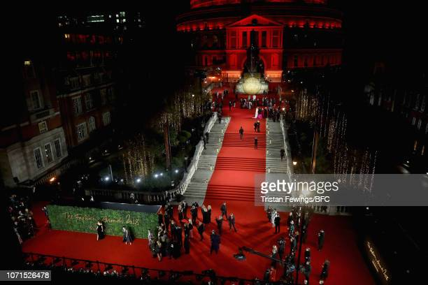 Atmosphere at The Fashion Awards 2018 In Partnership With Swarovski at Royal Albert Hall on December 10 2018 in London England
