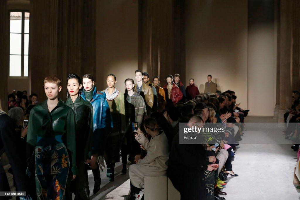 Salvatore Ferragamo - Runway: Milan Fashion Week Autumn/Winter 2019/20 : ニュース写真