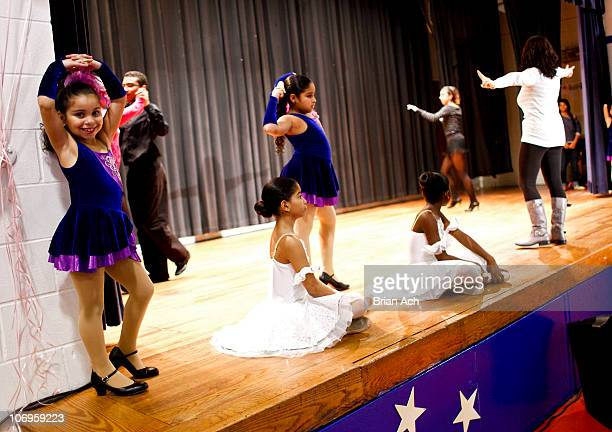 Atmosphere at the First Angelina Ballerina Stars of Tomorrow and Dizzy Feet Foundation National Dance Scholarship at Kips Bay Boys Girls Club on...