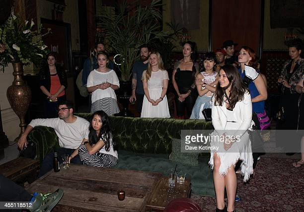 Atmosphere at the first Tumblr Fashion Honor presented to Rodarte at The Jane Hotel on September 9 2014 in New York United States