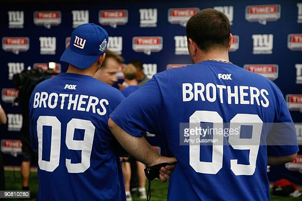 Atmosphere at the Fox Brothers Challenge at the New York Giants Timex Performance Center on September 15 2009 in East Rutherford New Jersey