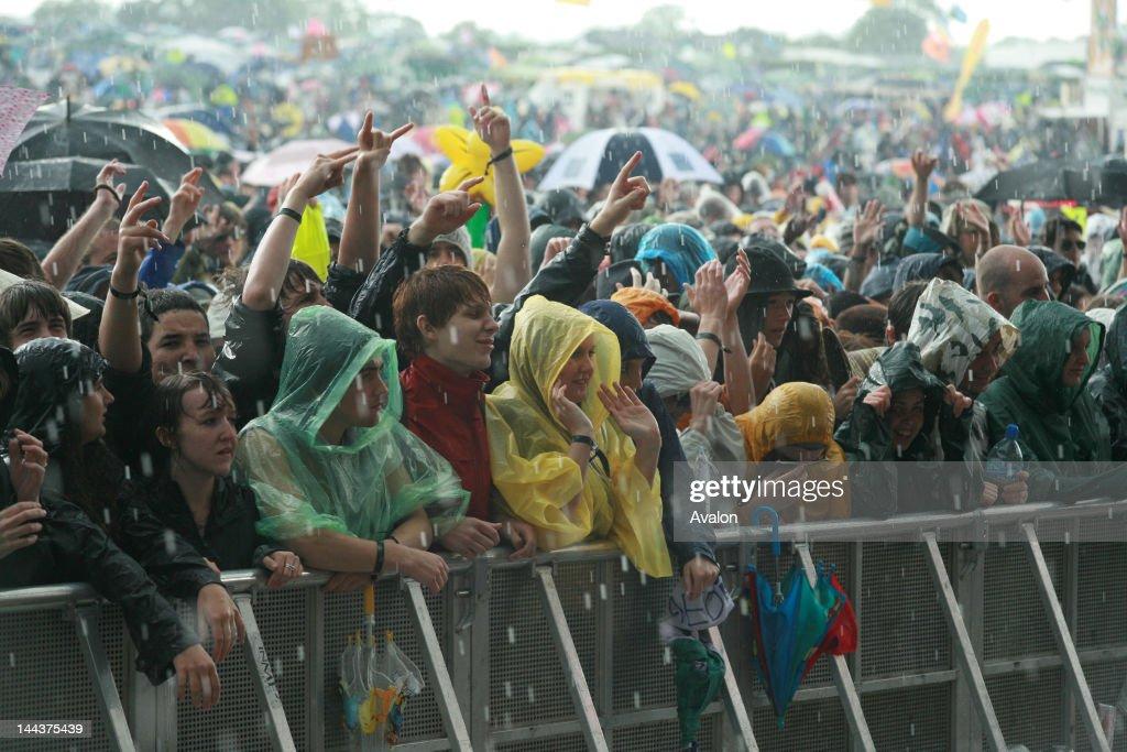 2007 Glastonbury Festival : News Photo