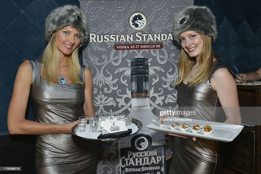 Gotham Magazine Celebrates An Evening Of Incredible Pursuits With Russian Standard Vodka Along With Unchartered Play And Alex Moazed : News Photo