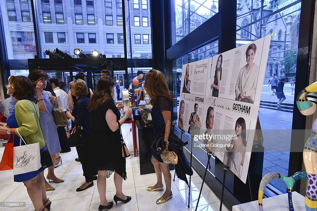 Atmosphere at the Gotham Magazine Celebration of Its Featured Amazing Faces Of NYC Beauties on June 19, 2013 in New York City.