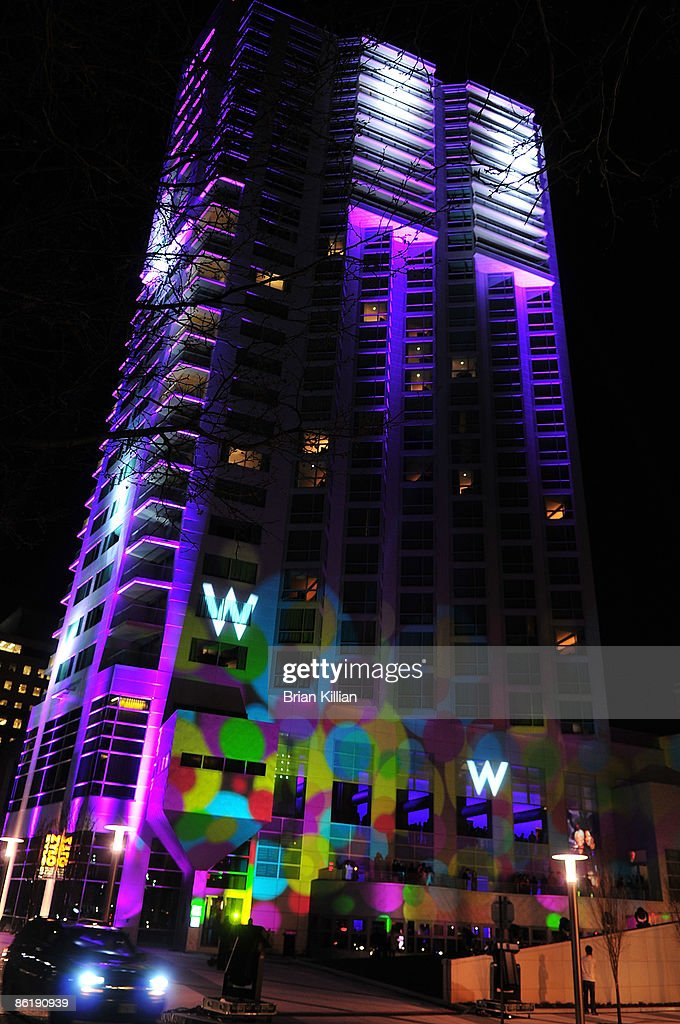 Atmosphere At The Grand Opening Celebration Of W Hotel On April 23 2009 In