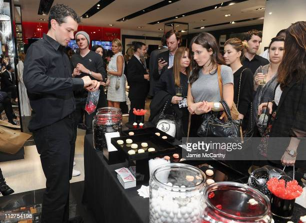 e655f8cdeb72 Atmosphere at the grand opening of the new 5th avenue Flagship store with  live performance by. GUESS And Vanity Fair Celebrate ...