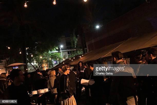 Atmosphere at the Greg Lauren For Banana Republic Event at Greg Lauren Studio on November 30 2016 in Los Angeles California