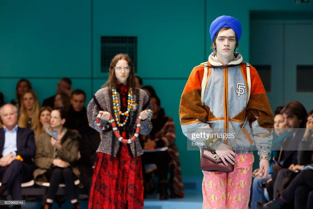 Gucci - Details - Milan Fashion Week Fall/Winter 2018/19 : ニュース写真