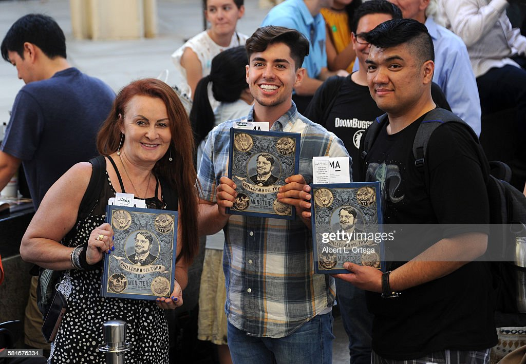 Atmosphere at the Guillermo Del Toro book signing for 'Guillermo Del Toro: At Home With Monsters' held at LACMA on July 29, 2016 in Los Angeles, California.