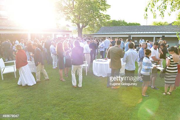Atmosphere at the Hamptons Magazine Celebration of Memorial Day Cover Star Heidi Klum on May 24 2014 in Southampton New York