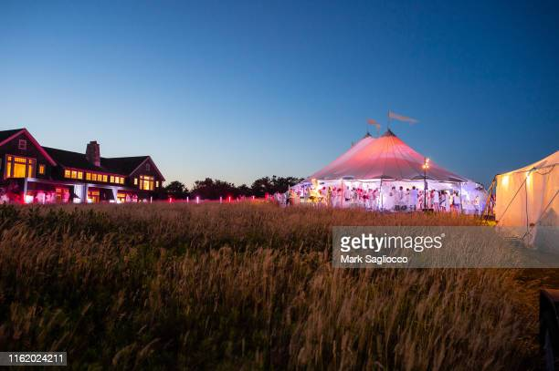 Atmosphere at the Hamptons Magazine Chic at the Beach with John Legend on July 13 2019 in Montauk New York