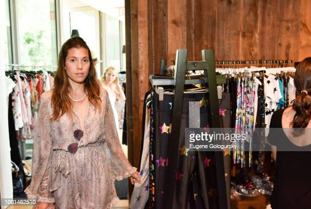 Atmosphere at the Hamptons Magazine London Jewelers Host A Luxury Shopping Afternoon at Topping Rose House on July 18 2018 in Bridgehampton New York
