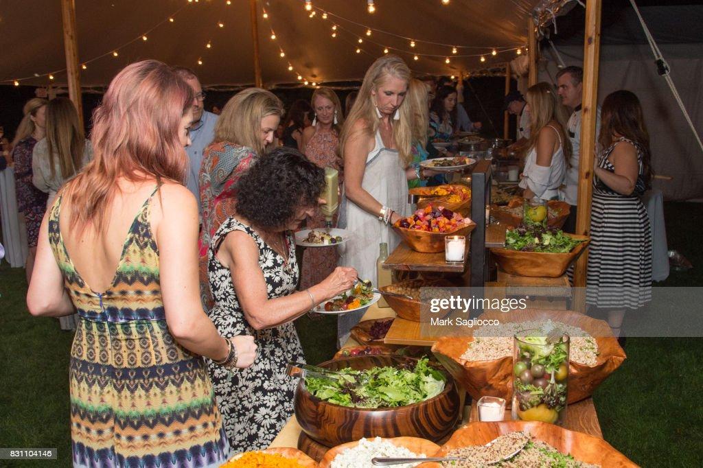 Hamptons Magazine Hosts a Private Dinner Celebrating East Hampton Library Authors Night : News Photo
