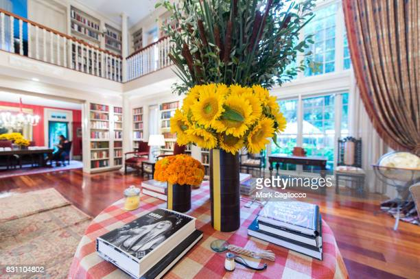 Atmosphere at the Hamptons Magazine Private Dinner Celebrating East Hampton Library Authors Night on August 12 2017 in East Hampton New York