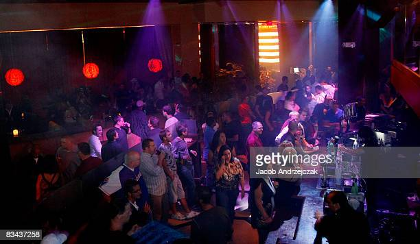 Atmosphere at the Hawaiian Tropic Zone Nightclub at the Planet Hollywood Resort Casino on October 25 2008 in Las Vegas Nevada