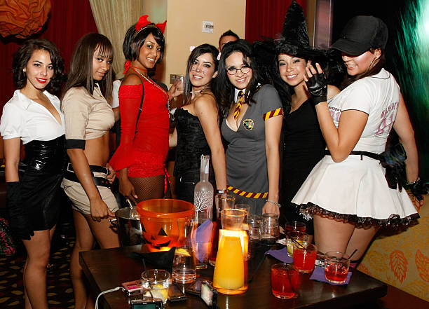 Hawaiian Tropic Zone's Halloween Party Photos and Images | Getty ...