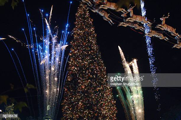 Atmosphere at the Hollywood Christmas Celebration from The Grove at The Gove on November 20 2005 in Hollywood California