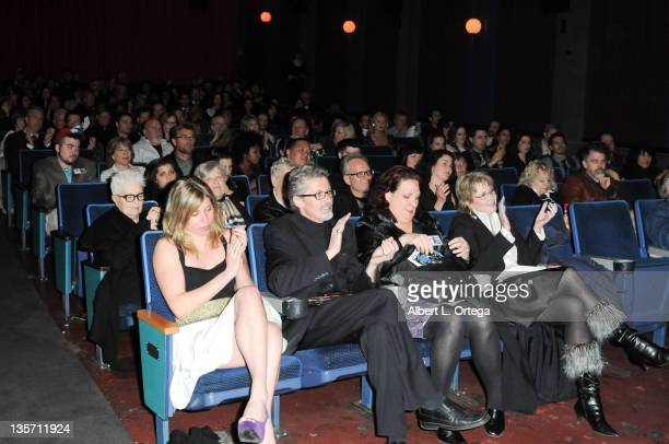 Atmosphere at the Hollywood Reel Independent Film Festival Awards Program held at New Beverly Cinema on December 7 2011 in Los Angeles California