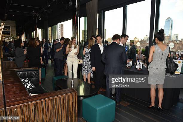 Atmosphere at The Junior Board of The TEAK Fellowship Presents A Midsummer Night at PHD Rooftop Lounge at Dream Downtown on June 22 2016 in New York...