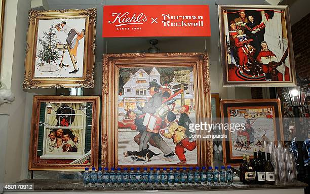 Atmosphere at the Kiehl's with Norman Rockwell and Feeding America Charitable Holiday Partnership Celebration at Kiehl's Since 1851 Skin Care on...