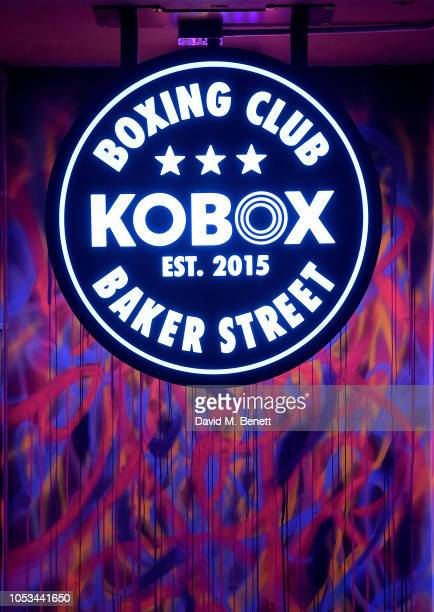 Atmosphere at the KOBOX Baker Street studio launch on October 25 2018 in London England