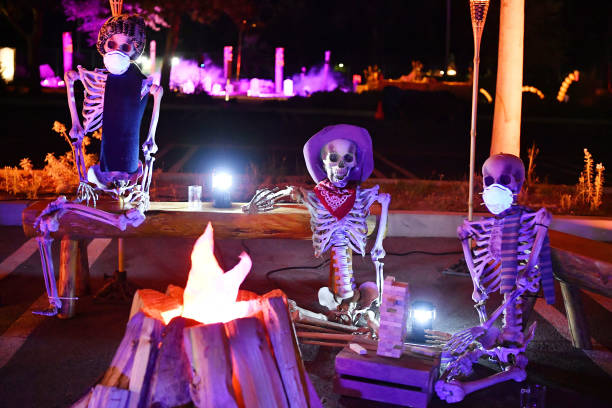 """CA: L.A. Zoo Drive-In Movie - Halloween Nights Screening Of """"Clue"""""""