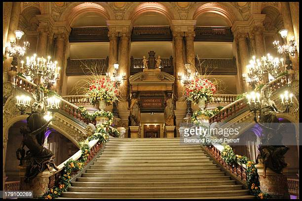 Atmosphere at The L'Arop Gala Evening Featuring A Performance From The Handel Opera Giulio Cesare At The Palais Garnier In Paris