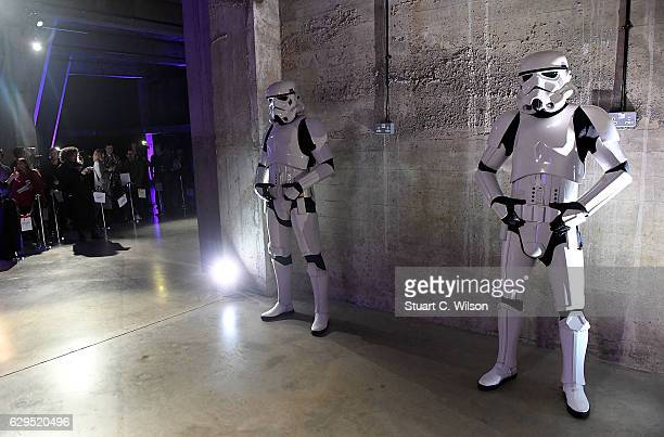 Atmosphere at the launch event and reception for Lucasfilm's highly anticipated firstever standalone Star Wars adventure Rogue One A Star Wars Story...