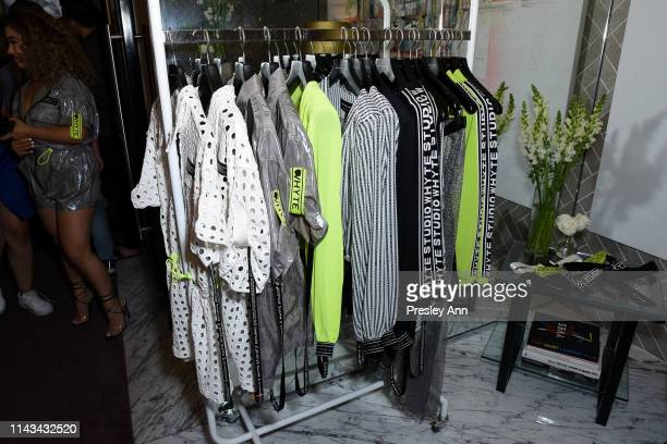 Atmosphere at the launch event for Whyte Studio's Festival Capsule Collection at Top Shop at the Grove on April 17 2019 in Los Angeles California