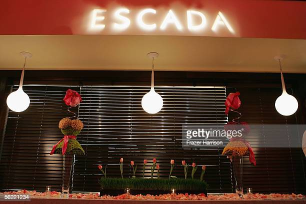 Atmosphere at the launch Of The Escada 2006 Spring/Summer Collection to benefit St Jude's Childrens Research Hospital held at the Meson G restaurant...
