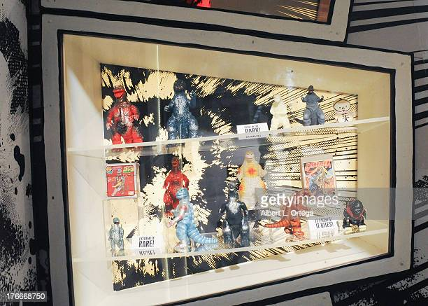 Atmosphere at the Legendary Pictures' exhibition of Godzilla memorabillia on display at a private location in conjunction with ComicCon International...